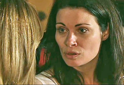 Carla telling Maria to get out