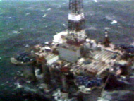 Ocean Ranger view from air
