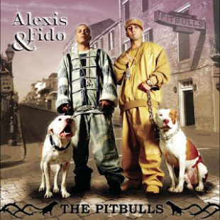 Pit Bulls on album cover Alexis & Fido The Pitbulls 2005