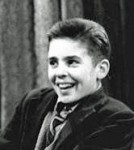 Davy Jones as Ena's grandson on Coronation Street