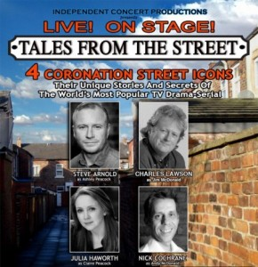 Poster for Tales from The Street - Coronation Street Canadian tour