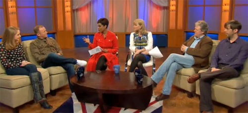 Canada AM with Corrie stars, CTV