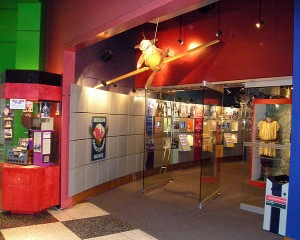 entrance to CBC Museum in Toronto broadcast centre