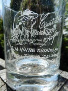 glass from Cantinho dos Anjos, Ponta Delgada
