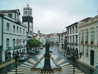 Ponta Delgada city centre
