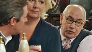 Norris indicates disapproval of Eileen and Paul