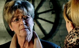 Becky saying to Deirdre you know something