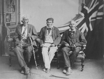 Six Nations War of 1812 veterans photo