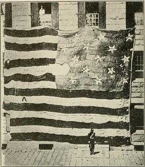 Fort McHenry flag war of 1812