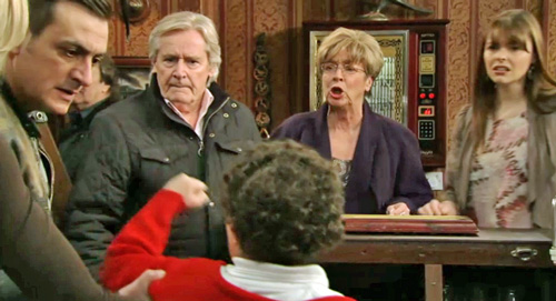 Barlows watch Simon have a tantrum in Rovers
