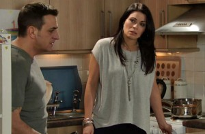 Peter telling Carla about Simon