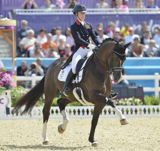 Charlotte Dujardin and Valegro 2012 Olympic dressage