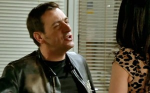 Peter telling Carla you want Simon away