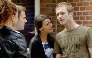 Tommy confronts Kirsty about taking her work home with her