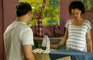 Tyrone looks at iron and goes no nearer Kirsty