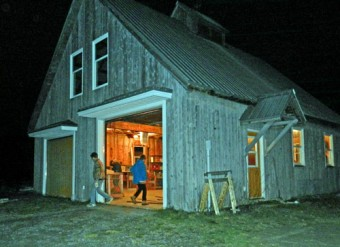 garage at night photo Dorothy Stewart