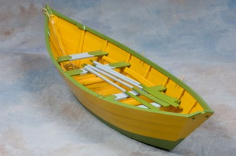 Newfoundland Monkstown dory model by Otto Kelland