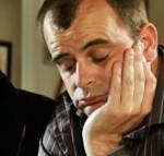 unhappy Steve with Lloyd