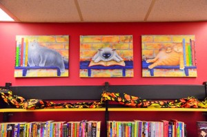 Belmont-Library-ON-2012 children's section artwork Patricia Couture