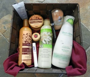 basket of cruelty-free products