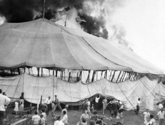 Hartford circus fire 6 Jul 1944