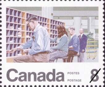 canadiandesignresources.ca stamps centenary postal workers