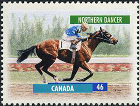 Northern Dancer Canada Post stamp 1999