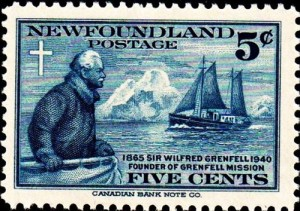 Grenfell_1940_Issue-5 cent stamp
