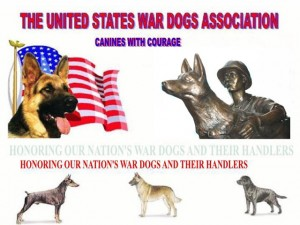 Masthead of US War Dogs Association