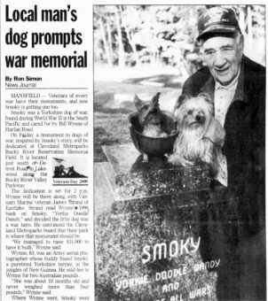 news-journal-mansfield-OH-11-nov-2005-p-1-smoky-statue