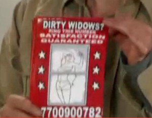 dirty-widows pamphlet for cleaning windows