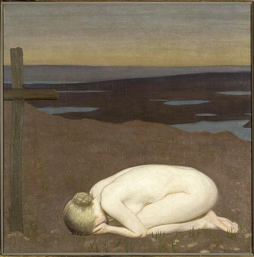 Youth Mourning, George Clausen, 1916, Imperial War Museum