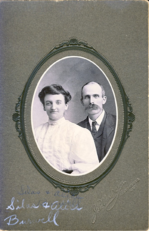 Silas and Alice Burwell studio photo