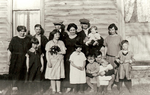 Mabee Photos - 1925-Clarence-Mabee-Family