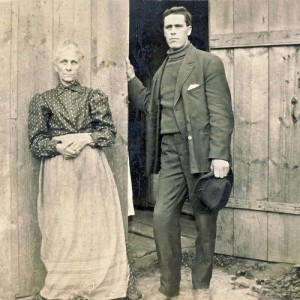 Ada Burwell and son Charles 1908