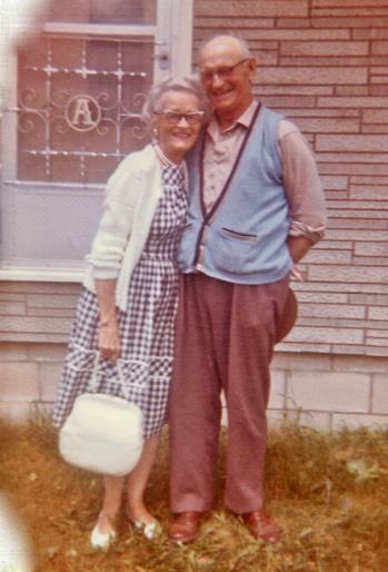 Austin Anger and sister Estella Jun 1963