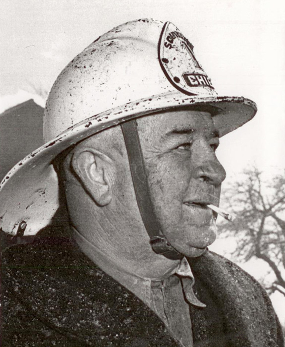 Charlie Mabee Fire Chief of Shedden ON