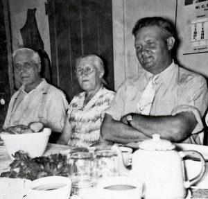 Jul-10-1955-belmont Charley Minnie B and Burnice McA
