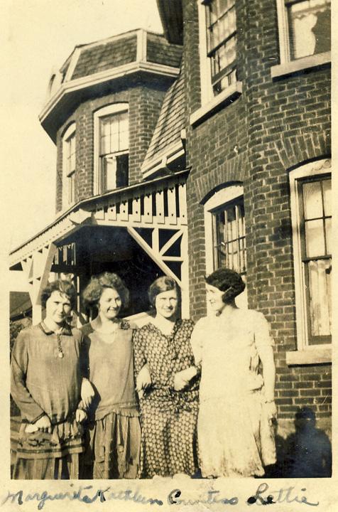 Lymburner sisters ca 1929 midland ont