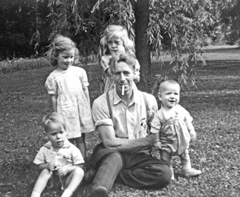 Pat-Walters-and-kids Pinafore Park St. Thomas