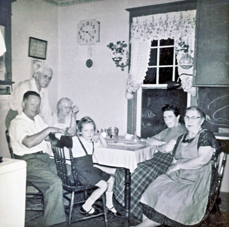 Tillsonburg Burwell kitchen-Sep-1959