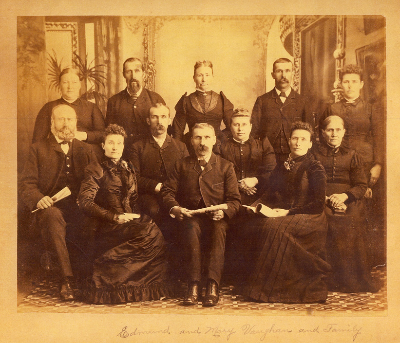 Edmund Vaughan and Mary Putnam family