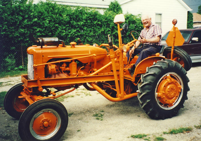 George Anger on Allis Chalmers