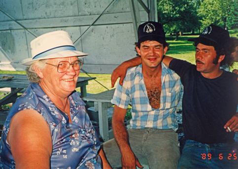 Mable Walters, Guy Burwell, Joe-Burwell 1989