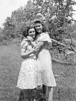 unknown girl and Mable Burwell
