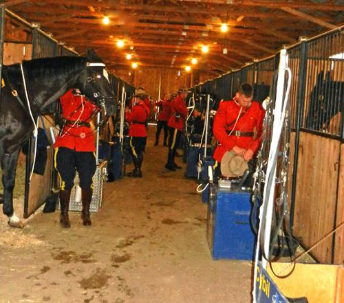 Riders prepare
