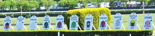 triple crown silks-belmont-park