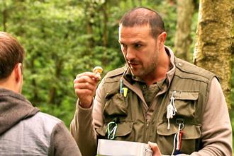 Dougie points out death cap mushroom