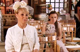 Sally's wedding faye waits