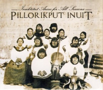cd cover Inuktitut Arias for All Seasons